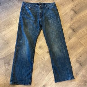 Lucky Brand 181 Relaxed Straight Jeans 36 x 32